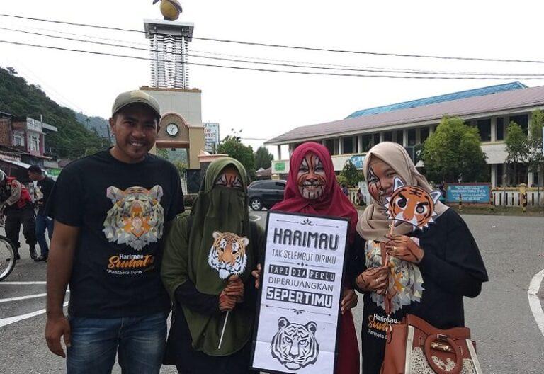 2 Perempuan Peduli Leuser Penelitian Harimau Sumatra Kampanye